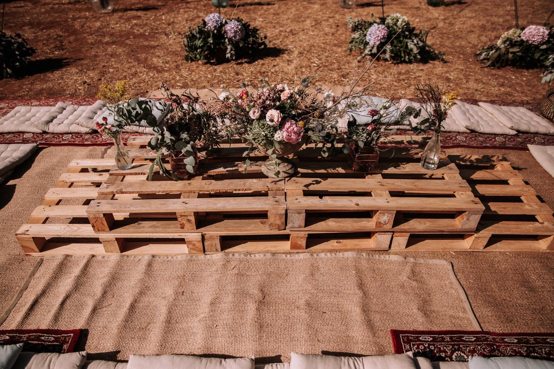 Mesas Boho Boda d-bodas