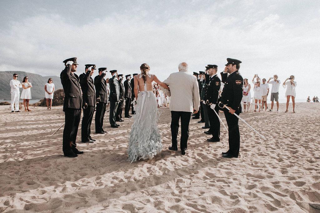 La Graciosa Wedding