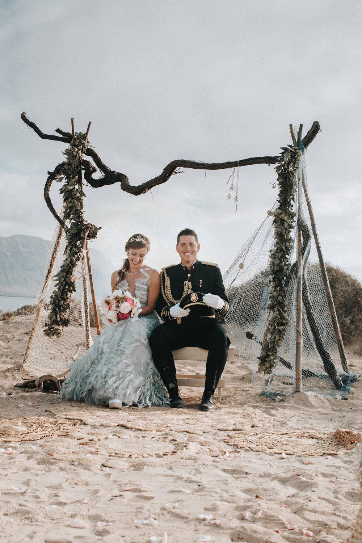 Wedding in La Graciosa