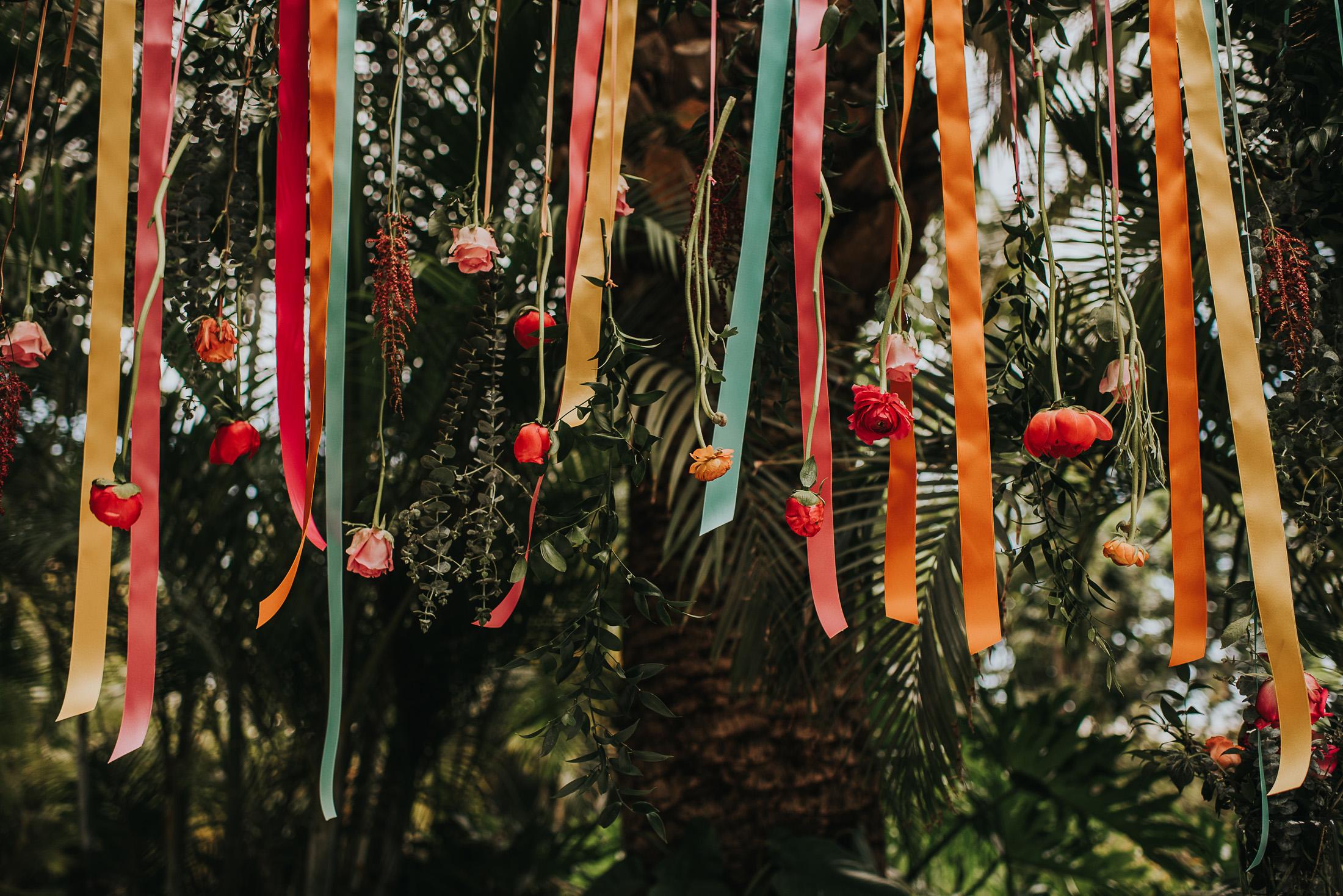 Deco Boda Cintas Color