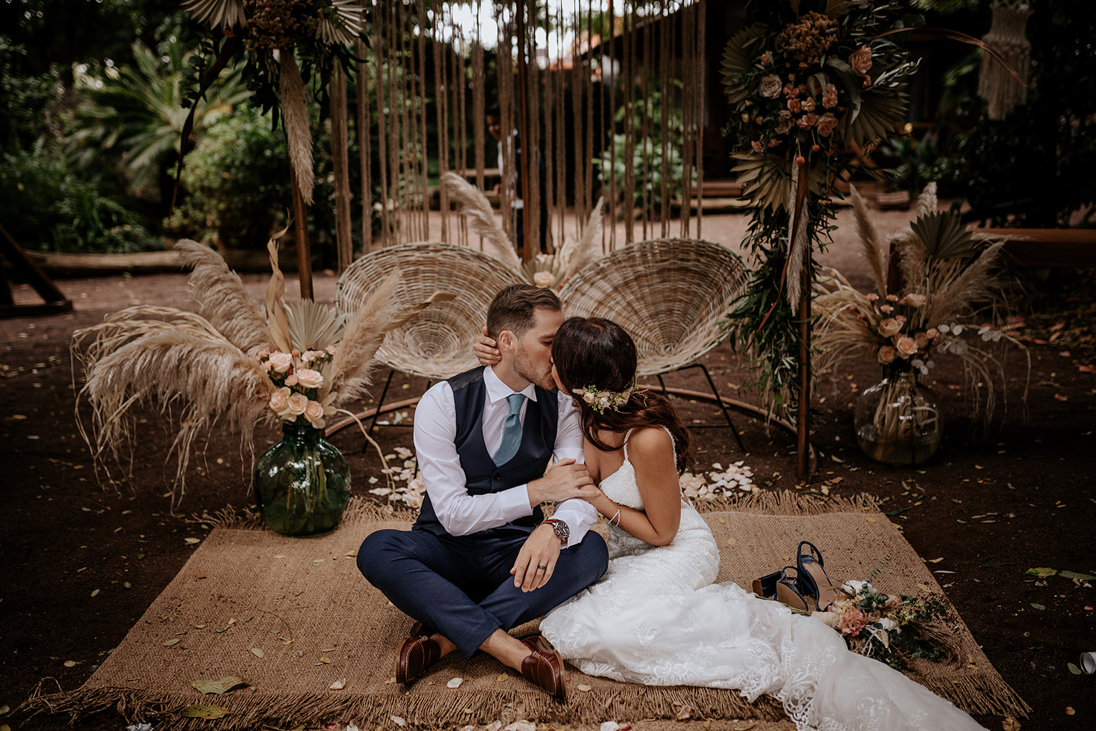 Boho wedding in Tenerife