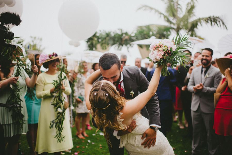 Inés & Yeray   Tropical Wedding   Finca Zamora