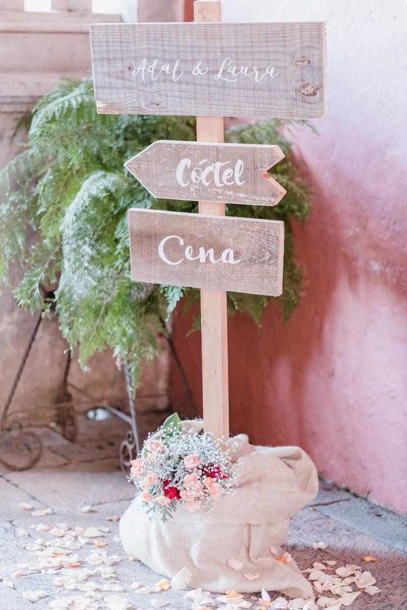 Cartelería Boda D-bodas.com