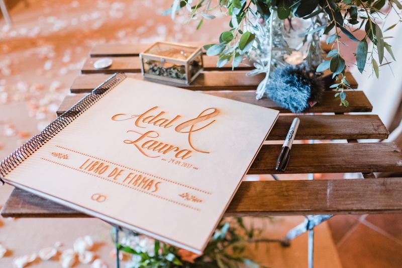 Libro de Firmas Boda Tenerife D-bodas