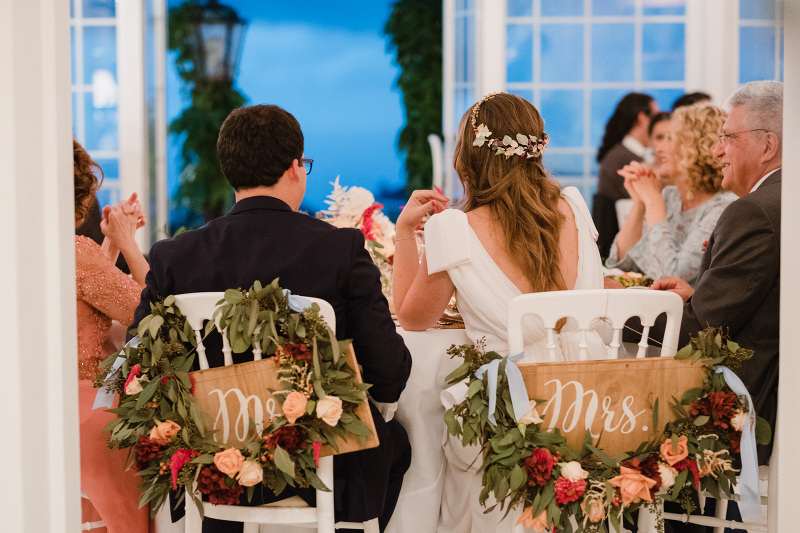 Carteles Mr & Mrs Bodas Tenerife D-bodas