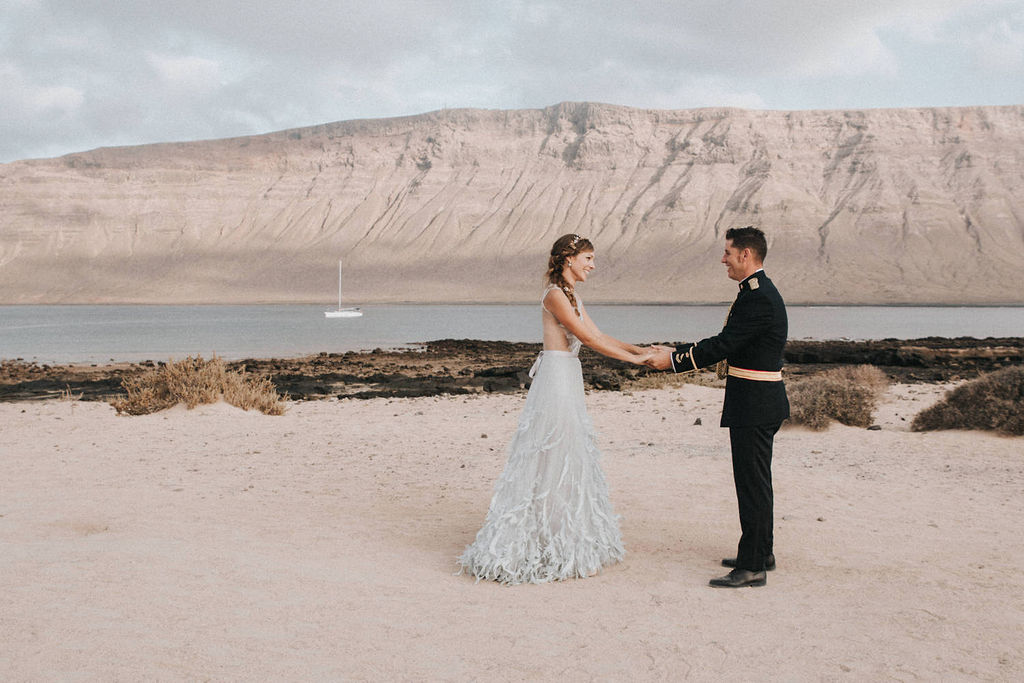 Ovidia & Pablo | A Wedding at 'La Graciosa Island'