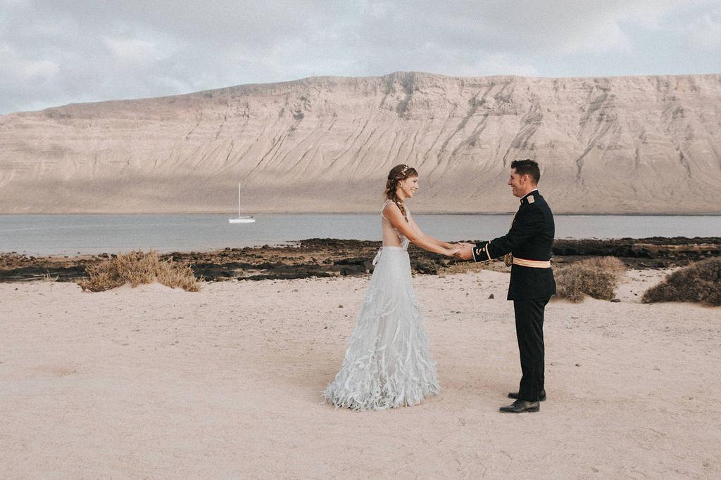 Ovidia & Pablo | Beach Wedding | La Graciosa