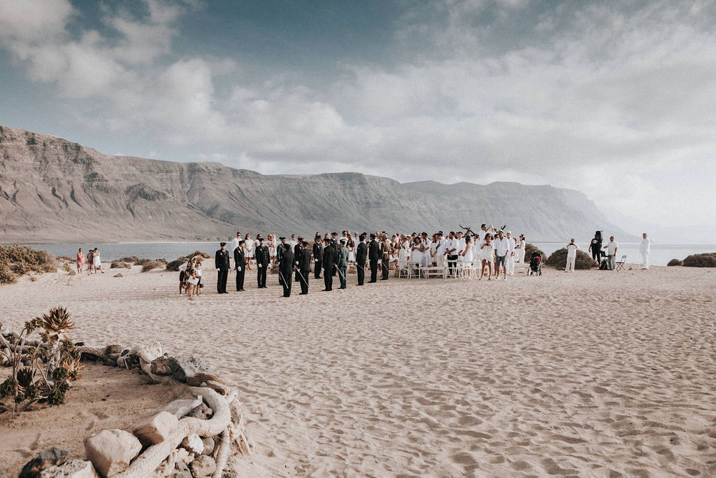 La Graciosa Wedding