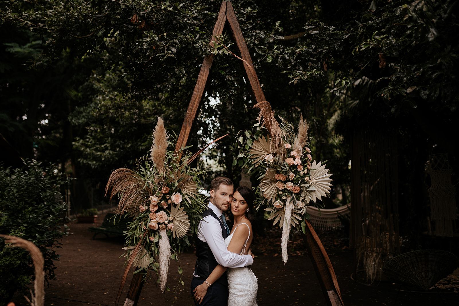 Vero & Josh, Boho Style Wedding at Casa Baudet