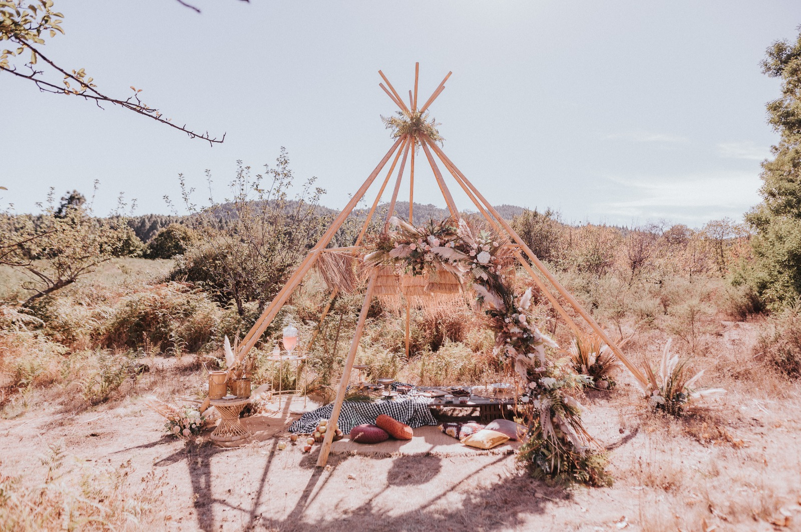 Decoración Bodas Tipi | Purelove Weddings